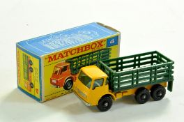 Matchbox Regular Wheels No. 4d Dodge Stake Truck. Decent example is very good to excellent in very
