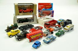 Misc diecast including Matchbox, Dinky and others including some boxed issues. Generally good to