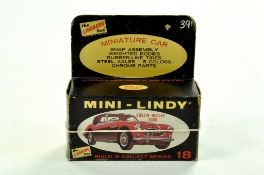 Lindberg (Vintage) Plastic Model Kit comprising Mini Lindy Series Austin Healey 3000 Kit. Appears