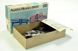 Revell (Vintage) Plastic Model Kit comprising Austin Healey 3000. Appears Complete. Enhanced
