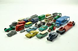 Mostly Matchbox diecast group plus some Dinky issues. Generally fair to good. Enhanced Condition