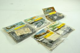 A group of 5 x 1/72 bagged FROG Plastic Model Aircraft Kits. All complete. Enhanced Condition