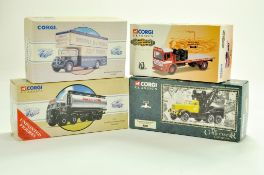 Corgi diecast group comprising Classics Series. Appear very good with boxes. Boxes have storage