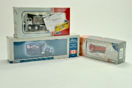 Corgi Diecast truck issues comprising Canadian Collection issue, AEC London Brick and Foden