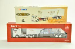 Corgi Classics Bells Whisky Diecast Truck plus hard to find Emirates Cargo 1/50 issue. Generally