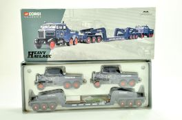 Corgi Diecast Truck issue comprising No. 17701 Scammell Heavy Haulage in the livery of Pickfords.