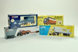 Corgi Diecast Commercial truck issues, classics and heavy haulage, comprising various issues,