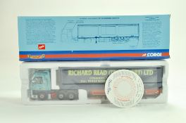 Corgi Diecast Truck issue comprising No. CC13408 ERF ECT Curtainside in the livery of Richard