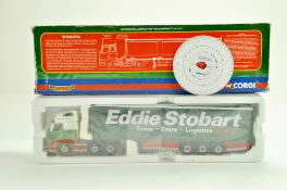 Corgi Diecast Truck issue comprising No.CC14002 Volvo FH Curtainside in the livery of Eddie Stobart.