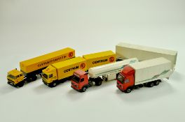 A quantity of diecast truck issues. Lion Toys, Joal etc. Generally Good.  Note: We are always