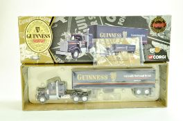 Corgi Diecast Commercial truck issue comprising No. 55801 Kenworth T925 with box trailer in livery