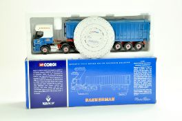 Corgi Diecast Truck issue comprising No. CC12106 Renault Premium Bulk Tipper in the livery of
