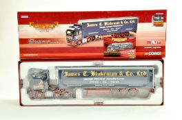 Corgi Diecast Truck issue comprising No. CC14027 Volvo Fridge Trailer in the livery of James