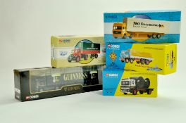 Corgi Diecast group comprising Truck issues. Classic Series plus 1/64 including Guinness, P&O and