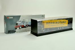 Corgi Diecast Commercial truck issues, Heavy Haulage and Modern Boddingtons issue. Appear