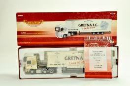 Corgi Diecast Truck issue comprising No. CC13910 Foden Alpha Step Frame Curtainside in the livery of