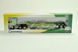 Cararama Diecast Truck issue comprising 1/50 Volvo Low Loader in the livery of Rawcliffe. Very