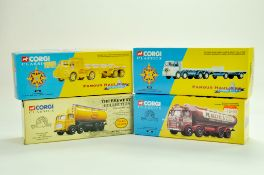 Corgi Diecast Commercial truck issues, classics, comprising various issues, brewery and famous