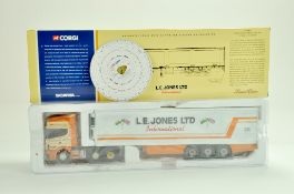Corgi Diecast Truck issue comprising No. CC12908 Scania Topline `Fridge Trailer in the livery of