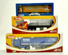Joal Diecast Truck issues plus Corgi 1/64 Knights Truck. Generally appear good, storage wear to