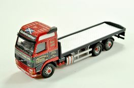 Corgi Diecast Truck issue comprising Volvo FH12 Code 3 Issue in the livery of Wishart. Generally