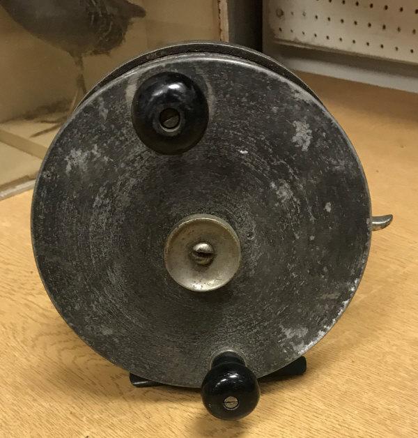 "Lot 81 - A Carter ""Improved Brake"" 6"" sea fishing reel"