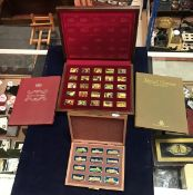 "A cased set of twenty-five silver ingots ""Elizabeth Our Queen - The Silver Jubilee Collection"" (by"