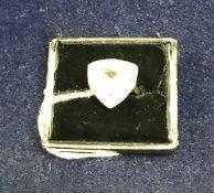 A 9 carat gold stone set dress ring, approx 3.