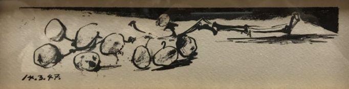 "AFTER PICASSO ""La Grappe de Raisin (M-79) 14 Mars 1947"" monochrome lithograph"