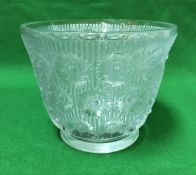 "RENE LALIQUE (1860-1945) - an ""Edelweiss"" pattern bowl,"