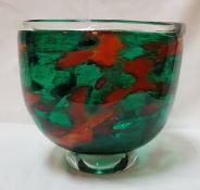 A Melting Pot glass,