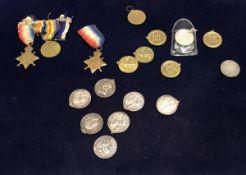 "A Boer War Queen Victoria South African medal inscribed ""17912 Dr O Meade 18th Batt. R.F."
