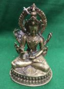 WITHDRAWN A Sino-Tibetan bronze figure s