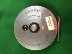 "A Hardy Marquis Salmon No. 2 4"" reel and"