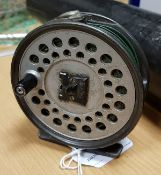 "A Hardy ""Viscount 130"" trout fly reel"