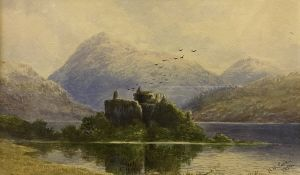 "H. MOXON COOK ""Kilchurn Castle Loch Awe,"