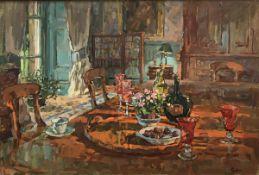 """SUSAN RYDER """"Venetian glass"""" an interior"""