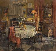 "SUSAN RYDER ""Kitchen scene with circular"