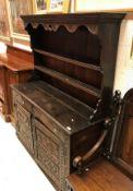 An 18th Century oak dresser (probably No