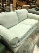 A modern three seat sofa