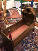 A 19th Century Scottish oak crib
