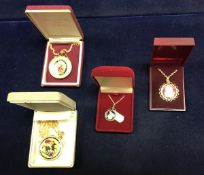 An 1819 George II crown, together with a