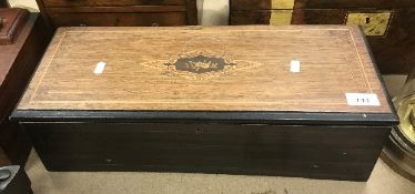 A 19th Century Swiss rosewood and marque