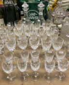 A pair of Waterford crystal decanters,