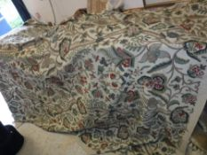 A Chelsea Textiles crewel work bedspread CONDITION REPORTS Has general wear and tear
