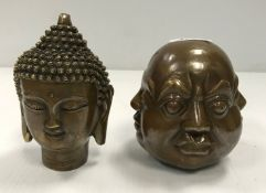 A modern bronze of a Sino Tibetan Buddha