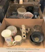 A Copeland Spode washbowl, jug, soap and