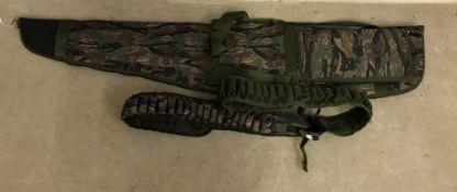 A fleece lined Smoky Bark gun sleeve wit