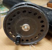 A Hardy St. John fly reel by Hardy Bros