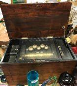 A 19th Century Swiss musical box,